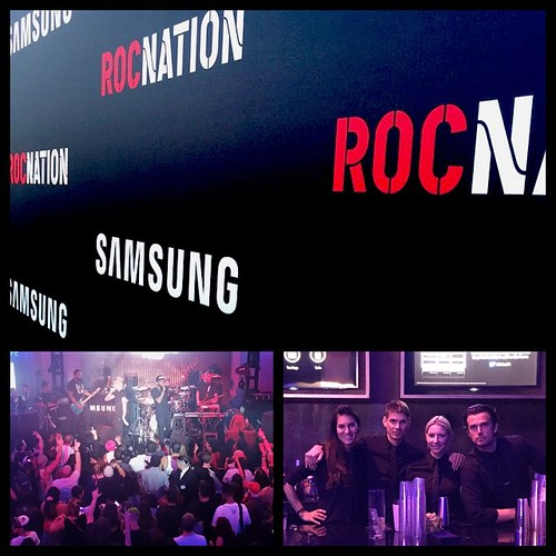What a week with @event_eleven @samsungmobileusa for #betawards week! So many great events and artists were on stage at the Samsung Studio. #RocNation blew the roof off last night to end the week! #BET #EventEleven #bartenders #bottleservice #lbd #events