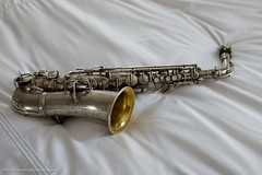 Conn New Wonder I Alto (1924) (alloyjared) Tags: instrument alto saxophone conn newwonderi