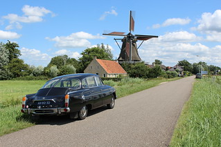 1969 Tatra 603 and 1782 windmill