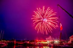 Paimpol evening Bastille Day 14th July (Matchman Devon) Tags: classic day fireworks regatta bastille channel paimpol