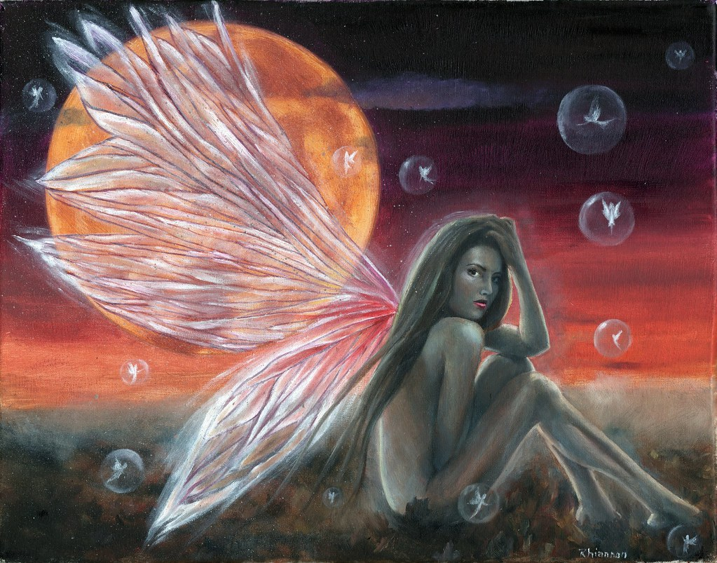 art fairy Naked fantasy