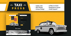 TaxiPress - Taxi Company HTML5 Template (Business) (lachellecoston) Tags: cars order cab taxi transport driver taxicabs landingpage html5 taxicompany privatecarhire taxifirm