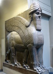Lamassu (edenpictures) Tags: england sculpture london art statue unitedkingdom britain britishmuseum assyrian mesopotomian