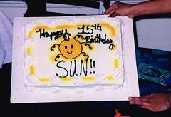 Happy Birthday Sun (~ Lone Wadi Archives ~) Tags: birthday celebration birthdaycake lostphoto retro 1990s