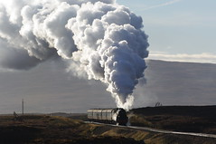 Thunder On Rannoch Moor (briandean2) Tags: steam railways uksteam ukrailways