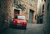 500 Red (fgazioli) Tags: girona spain espanha europe eurotrip travel bestplacestogo medieval gameofthrones cityphotography city cityscape car red fiat