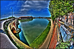 The quays of Toulouse (Steff Photographie) Tags: quai toulouse daurade toulousain pont neuf bridge colors couleurs hdr flickr