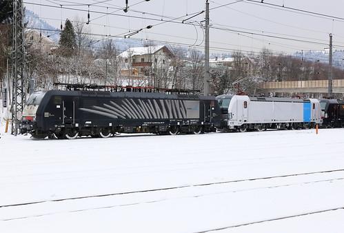Lokomotion 189 927-7 Lokzug, Kufstein