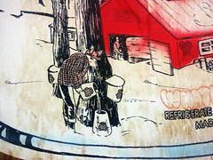 Maple Sizzurp detail (Exile on Ontario St) Tags: maple syrup sizzurp sirop érable siropdérable maplesyrup street montreal art graffiti stencil streetart montréal pur pure can litres canne canadian wheat wheatpaste paste pasting poster animal deer caribou elk chevreuil squared shirt carreauté carreaux chemise carreautée poison chaudière bucket buckets poisoning poisoned cough codeine