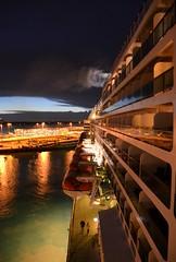 Southampton Arrival (Vintage Alexandra) Tags: queen mary 2 southampton england travel photography sunrise nature maritime history cunard qm2
