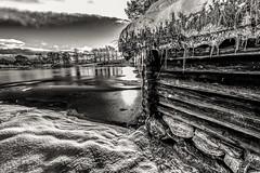 Borgund (©jforberg) Tags: 2017 ålesund black white bw water waterfront winter wonderful nice norway noregia norwegian norwegen norge aalesund woods