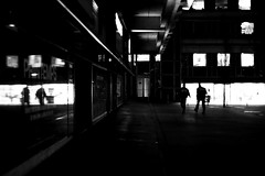 The shadow's men (pascalcolin1) Tags: paris13 nuit night reflection reflets hommes men ombre shadow lumières lights photoderue streetview urbanarte noiretblanc blackandwithe photopascalcolin