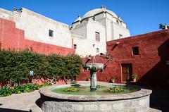 Fountain, Santa Catalina Monastery (chamer80) Tags: peru arequipa monastery southamerica santacatalina fountain