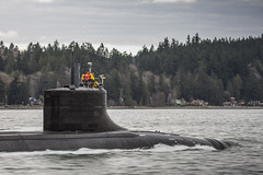 161215-N-CC918-010 (Photograph Curator) Tags: seawolfclass maintenanceavailability seatrials bremerton underway connecticut fastattack submarine ssn22 washington unitedstates us