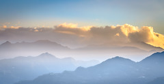 xindian-0002746 (mingshah) Tags: sunset clouds mountains shades nature colours taiwan taipei newtaipei