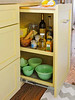 Pull-Out Cabinet w/ Cutting Board (Heath & the B.L.T. boys) Tags: kitchen yellow organize storage