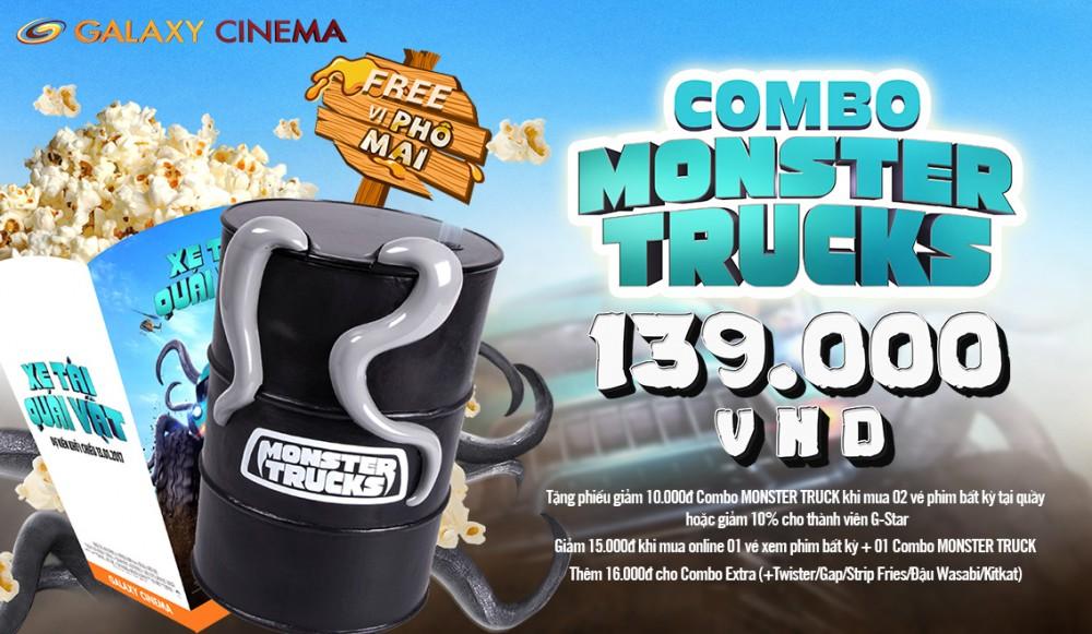 Xem Monster Trucks Cùng Combo Độc-Lạ