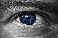 Behind Blue Eyes (Ignacio M. Jiménez) Tags: macromondays inspiredbyasong ojo eye cutout azul blue layedra jaen andalucia andalusia españa spain ignaciomjiménez wow