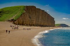 dorset, jurassic coast  may 2016 (kapper22) Tags: dorset coast water sea beach sky blue cliff