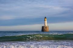 Rattray Head Lighthouse (Sarah-86) Tags: rattrayhead aberdeenshire scotland coastal coast lighthouse building sea ocean landscape seascape beach nikond810 nikonafs247028vrii waves weather