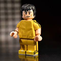 Custom Lego Bruce Lee (Game of Death) (assui88) Tags: brucelee martialarts hongkong gameofdeath lego minifig minifigure custom customlego customtoy
