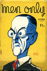 Men Only, October 1947. Sir Stafford Cripps (ARBaurial) Tags: sirstaffordcripps cripps austerity menonly magazine 1947 uk