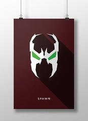 Spawn (marciorodgs) Tags: spawn universo marvel dc liga justiça pôster cartaz cartazes design plano ilustração ilustrações desenho desenhos comics quadrinho quadrinhos super herói heróis vilão vilões xmen pôsteres