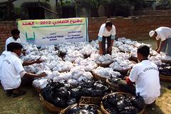 IR India Qurbani Meat Distribution 2012