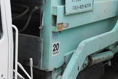White / Bowles (Scott (tm242)) Tags: las vegas classic trash dumpster truck garbage junk side nevada debris rear disposal front bin management rubbish trucks fl waste refuse recycle loader removal recycling load hopper rl haul heil msl maxon amrep