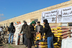 Winter food distribution to vulnerable communities in Mazar-e-Sharif