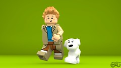 LEGO Tintin - Tintin and Snowy (Concorer) Tags: brick toy tin lego fig snowy character group reporter games legos figure tintin decal tt minifig adventures calculus professor custom knob dupont unicorn ideas et georges thompson journalist tournesol remi dimensions milou minifigure herge capitaine dupond tompson casterman concore tryphon crowdfund hergé's herge's