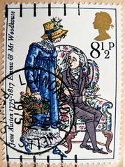 great stamp Great Britain 8.5p Jane Austen 1775-1817, (Джейн Остин) Emma (novel, roman, novelle, livro, рома́н novela, romanzo) UK Great Britain United Kingdom postage stamps poste-timbres Grande-Bretagne sellos Gran Bretagna Gran Bretaña selos GB England (stampolina, thx ! :)) Tags: uk greatbritain blue england color colour english postes roman unitedkingdom stamps emma porto novel british livro blau woodhouse postage postzegel janeausten franco granbretagna novelle novela sellos grossbritannien briefmarken markas selos romanzo timbres granbretaña francobolli znaczki frimerker frimaerke sellodecorreo pulları แสตมป์ postestimbres postetimbres selodecorreio antspaudai znamk рома́н