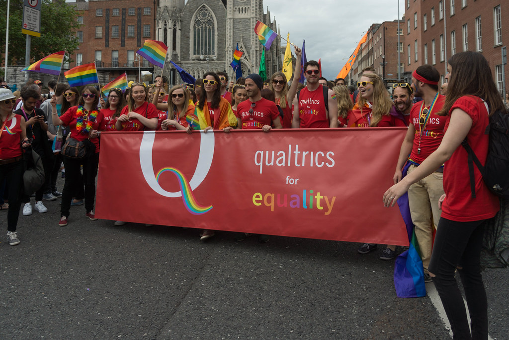 DUBLIN 2015 LGBTQ PRIDE PARADE [THE BIGGEST TO DATE] REF-105945