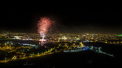 Eid Day Fireworks 2015. Abha, Saudi Arabia (Sarfraz Abbasi [0.75 million views, Thanks]) Tags: night fireworks eid celebration saudi arabia abha saudiarabia province aseer asir