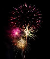 Fireworks 3 (JMS2) Tags: longexposure night dark lights stream fireworks sony celebration burst 4thofjuly