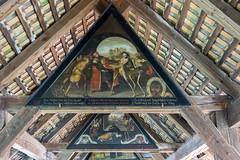 Paintings, Spreuer Bridge, Lucerne (Ken Barley) Tags: switzerland paintings luzern lucerne rhinecruise spreuerbridge
