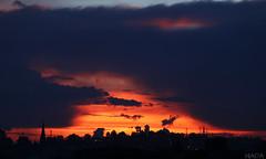 Manizales (HIADA) Tags: sunset silhouette canon landscape atardecer colombia manizales paisaje negative atardeceres silueta caldas 70d hiada fabricaatardeceres