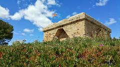 Mallorca - Punta de n'Amer (SilentJay76) Tags: castle coast spain ruins mallorca castell calamillor puntadenamer