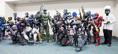 Master Chief Get Together (uncle_shoggoth) Tags: california san sandiego chief halo diego master convention con geeky spartan sdcc