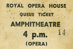 ROH Collections Item of the Month: Queue Tickets