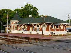 Tuscaloosa, Alabama Depot (M R Stephens) Tags: railroad alabama trains amtrak depot norfolksouthern tuscaloosaal