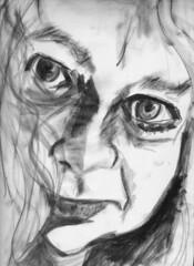 Andrea (Gila Mosaics n'stuff) Tags: portrait art artist portraitparty watersolublegraphite jkpp
