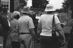 peas and carrots (ANC'N'VA) Tags: love monochrome virginia holding hands couple pentax hats chatham holdinghands fredericksburg stafford handholding k01