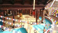 a temple in milano (omnia_mutantur) Tags: nepal italy milan water statue temple agua eau italia expo milano religion buddhism flags bouddha pavilion budda acqua estatua statua banderas buda italie templo pavillion estátua religião pavilhão bandiere bouddhisme bandeiras tempio budismo drapeaux religione religión buddismo नेपाल templio bandierine expo2015 expomilano expomilan pabéllon