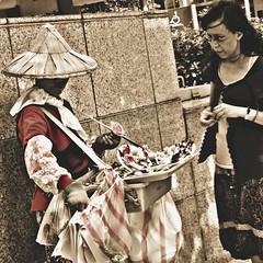 Vendor, Taipei 0715 #Taipei #Taiwan #travel #people #streetphotography  #jezevec (Badger 23 / jezevec) Tags: square roc taiwan squareformat formosa  kina  2015  republicofchina  instaart  republikken  tajwan  tchajwan   iloan  iphoneography republikchina thivn  taivna tavan   instagram instagramapp uploaded:by=instagram instataiwan