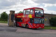 IMGP3580 (Steve Guess) Tags: city uk england bus tour open top sightseeing bbc topless gb windsor berkshire datchet topper scania ratp eastlancs bathbuscompany yn55nkz
