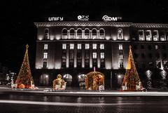 Sofia before Christmas.. (vikikaneva) Tags: sofia beautiful lovely love lights night bulgaria amazing city christmas
