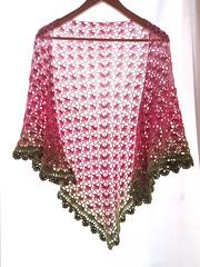 20161208_160618 (tannie) Tags: amsterdam amsterdamzuidoost colour crochet fun goudenleeuw hobby merino nederland noordholland shawl southbayshawl zuidoost green pink roze tulip