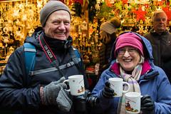 Gluhwein + Parents (*Hairbear) Tags: festive parents winter salzburg austria market weinachtsmarkt gluhwein christmas drinks cold