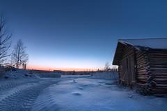 Winter Wonderland (Haapih) Tags: winter sunset barns countryside agriculture snow kiuruvesi finland suomi wonderland forest cold winterwonderland landscape